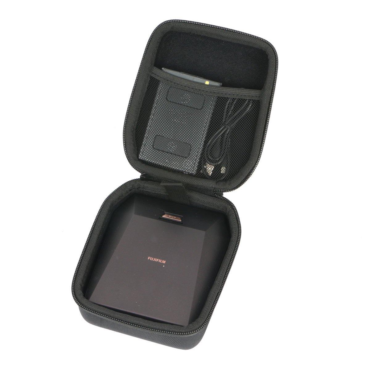pour Fujifilm Instax Share SP-3 16558138 Imprimante Format Carré EVA Dur Cas Voyage Etui Housse Sac Case by Khanka