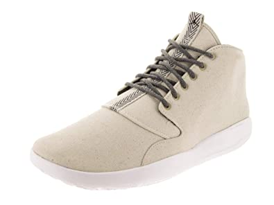 finest selection e80d8 0f826 Nike Mens Eclipse Chukka Light Bone Black Textile Trainers 41 EU