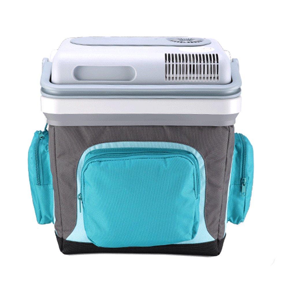 LIQICAI 25L Elektrische Kühlbox Minikühlschrank Kühlung Wärmen 12V DC (Auto)/220V AC (Zuhause)