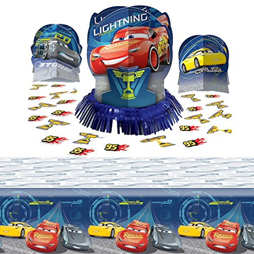 Disney Cars Party Supplies Table Decoration Kit ()