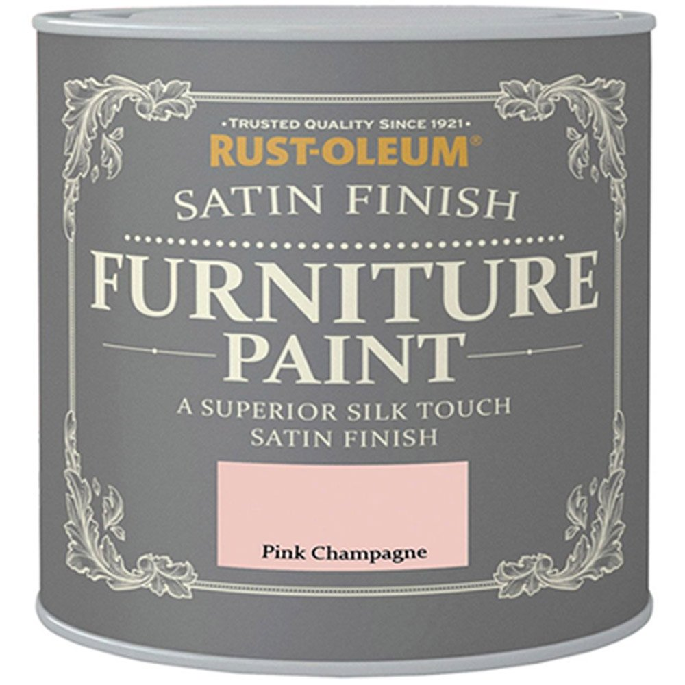 Rust-Oleum Satin Furniture Paint - Pink Champagne - 125ML