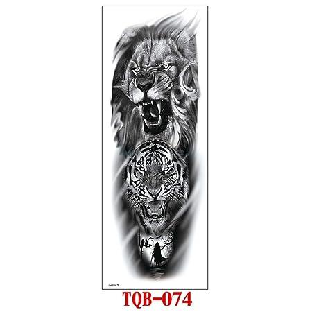 Handaxian 3pcs-Full Brazo Tatuaje Pegatinas Brazo Completo Tatuaje ...