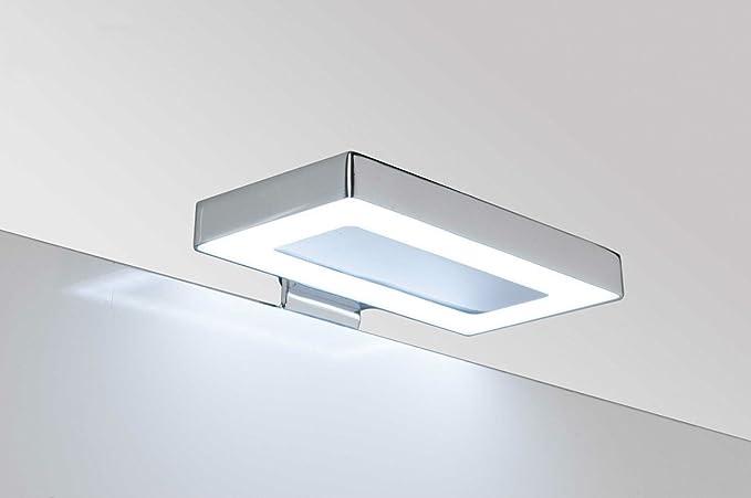 Lampada luce a led applique cm 11 5 faretto specchio arredo bagno