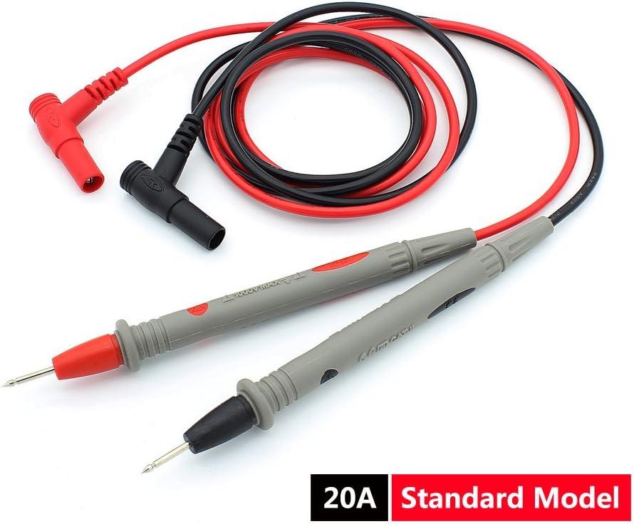 16 in 1 Digital Multimeter Test Leads Probes Volt Meter Cable Clip Alligato TM