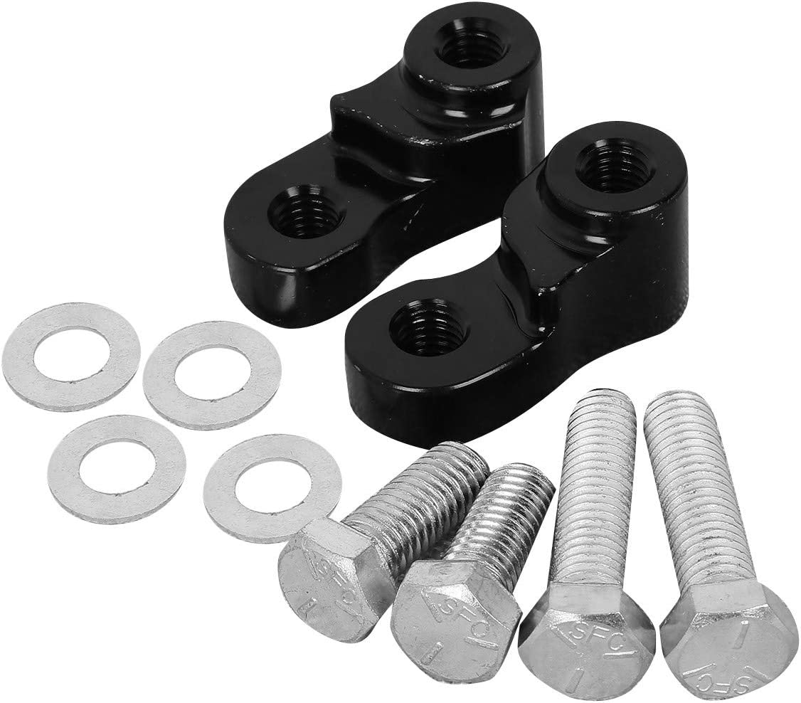 """CNC 1/"""" Rear Lowering Kit Fit For Sportster XL883 1200 2005-2016 2017 Black"""
