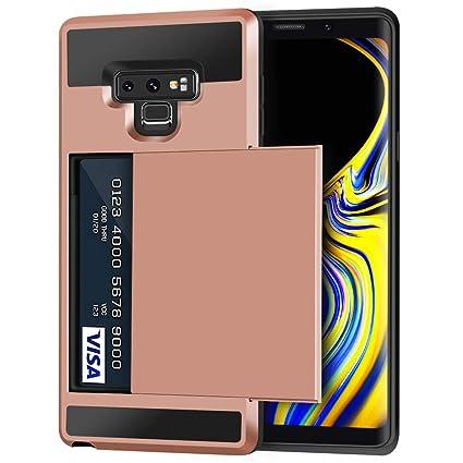 Amazon.com: Anuck - Funda para Galaxy Note 9, ranura para ...