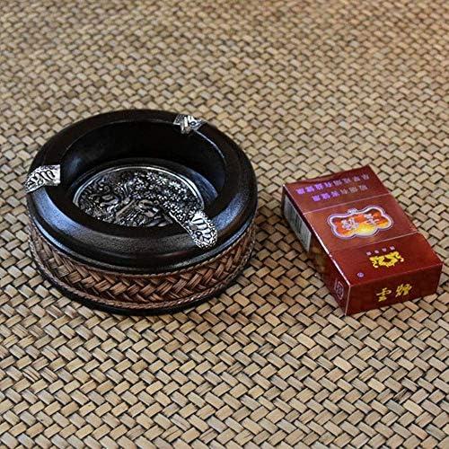 葉巻灰皿, 灰皿屋外用携帯灰皿テーブルカバー付きヴィンテージフロントガラスの灰皿