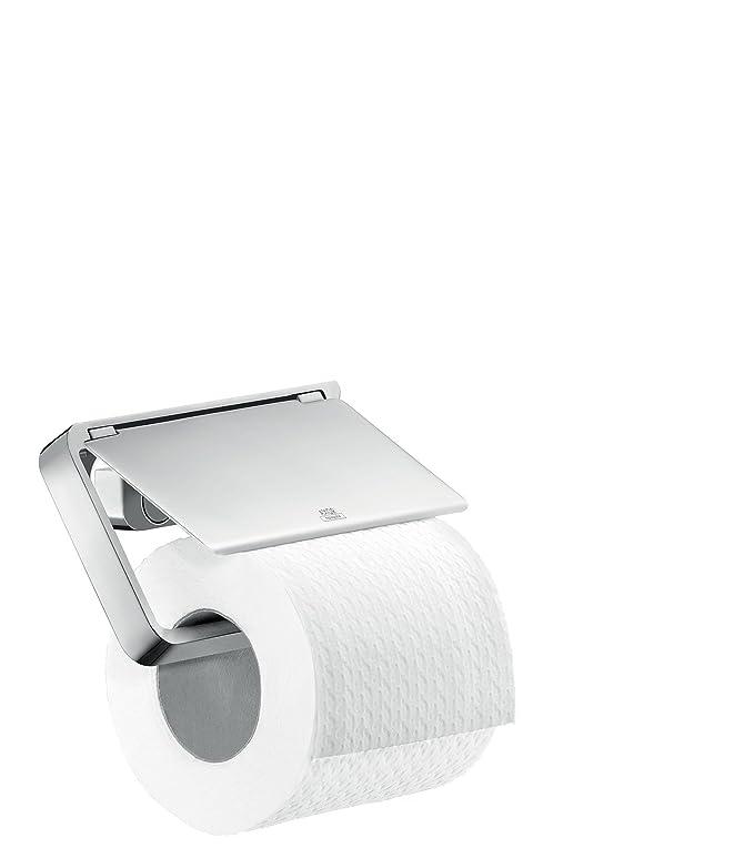 Amazon.com: Axor 42836 Soporte de papel higiénico Universal ...