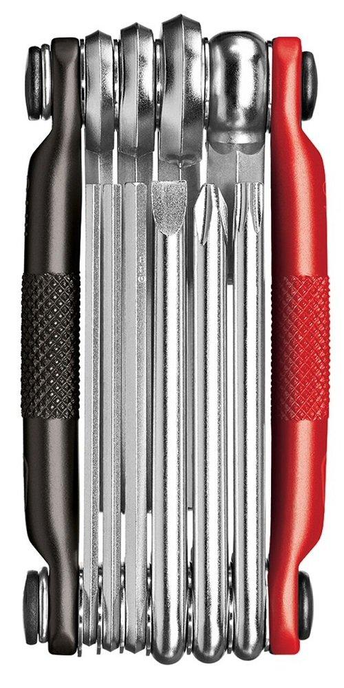 CRANKBROTHERs Multi Tool 10 - Black & Red