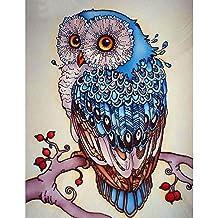 Full Diamond Embroidery Animal Owl 5D Diamond Painting Cross Stitch 3D Diamond Mosaic Needlework Crafts Christmas Gift