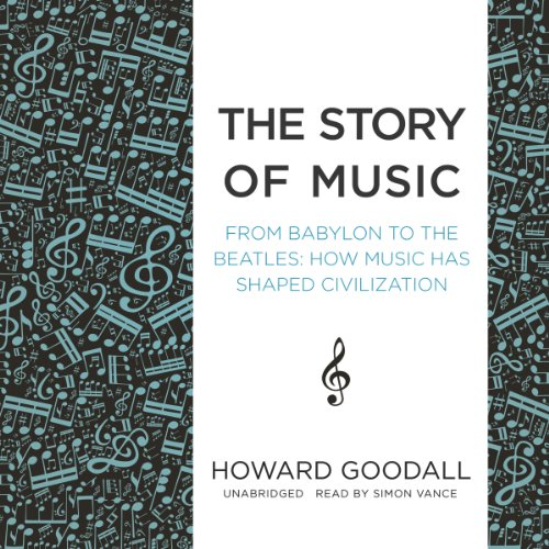 The Story of Music: From Babylon to the Beatles: How Music Has Shaped Civilization by Blackstone Audio, Inc.
