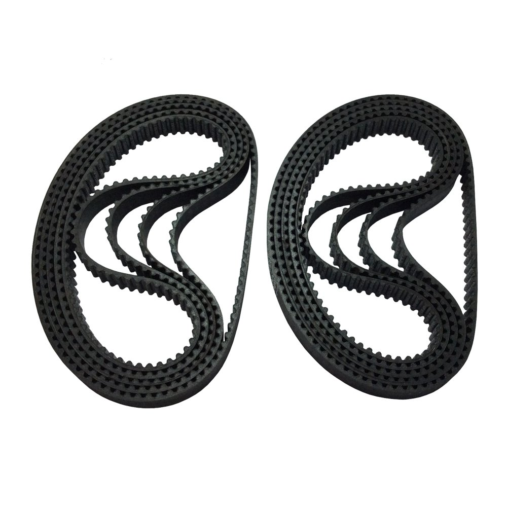 BEMONOC 2GT Timing Belt 180-2GT-6 Rubber L=180mm W=6mm 90 Teeth in Closed Loop for 3D Printer Pack of 10pcs by 2GT Timing Belt Closed Loop (Image #3)
