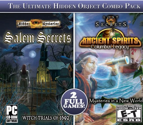 Hidden Mysteries: Salem Secrets and Lost Secrets: Ancient Spirits Columbus' Legacy Jewel - Shopping Center Columbus