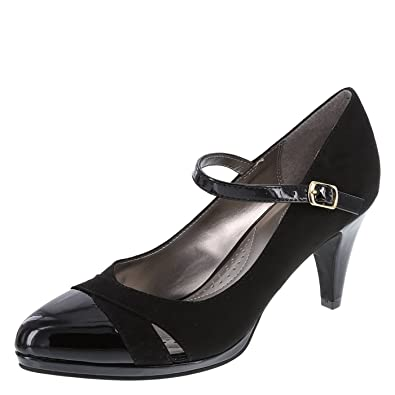 Kunsto Womens Leather High-Heeled Pumps Pointed Toe CQ_2380