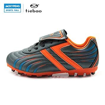 2ce1427fd Image Unavailable. Purple, 12 : TIEBAO Professional Outdoor Football Boots  Children Kids Teenagers H & A Sole