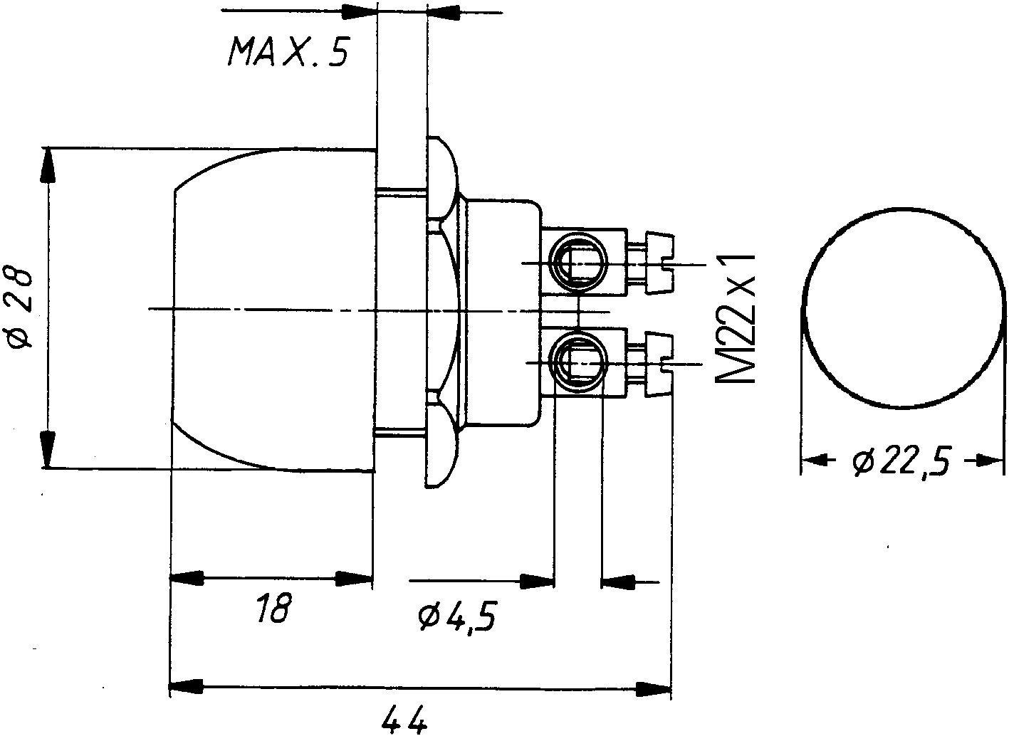 HELLA 6JF 001 571-151 Z/ünd-//Startschalter