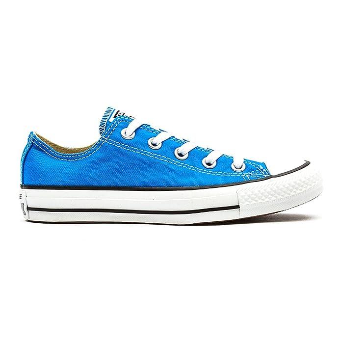 Converse Chuck Taylor (Chucks) All Star Ox Sneaker, Unisex-Erwachsene Blau