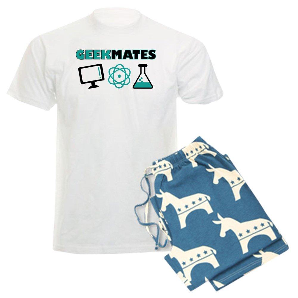 CafePress I Love My Wife Mens Light Pajamas Pajama Set