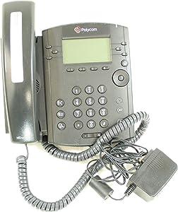 Polycom VVX 310 6-line Desktop Phone, Power Supply Included