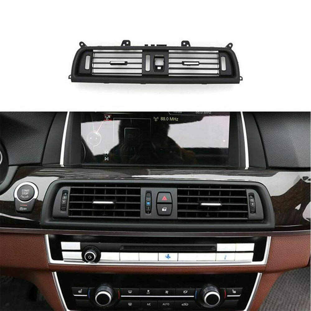 Maso Air Outlet Vent Grille Cover Car Front Dash Panel Console Center Cover Grille for F10 F18 523 525 535