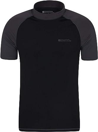 Mountain Warehouse Camiseta térmica con protección Solar UV para Hombre - Camiseta térmica con protección Solar UV UPF50+, Top térmico de Secado rápido, Costuras Planas: Amazon.es: Ropa y accesorios