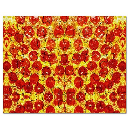 CafePress - Pizza Design - Jigsaw Puzzle, 30 pcs.