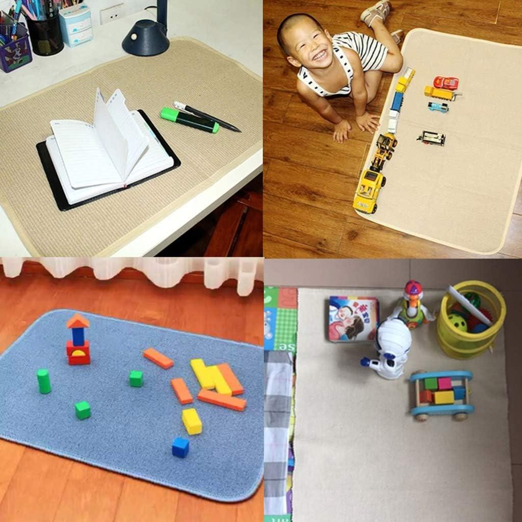 Alfombra de trabajo peque/ña Montessori accesorios para mesa A