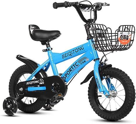 Bxiao Bicicleta para niños de 2 a 8 años de Edad, niño y niña ...