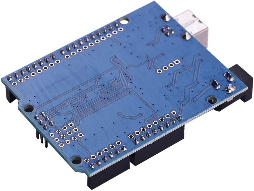 Deofficially Aibecy 3D Printer Accessories CNC Shield UNO-R3 Board A4988 Driver Kit with Heat Sink for Arduino Engraver 3D Printer