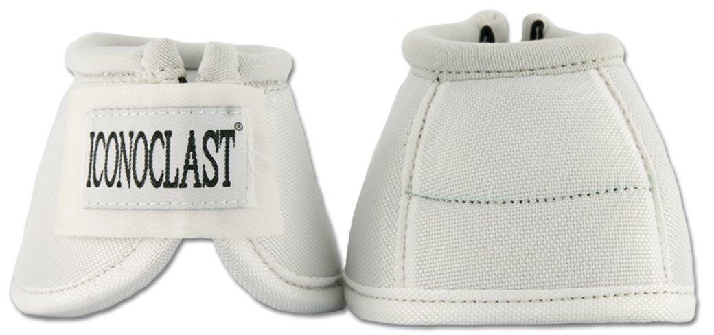 Iconoclast Equine Bell Boots (White Medium)
