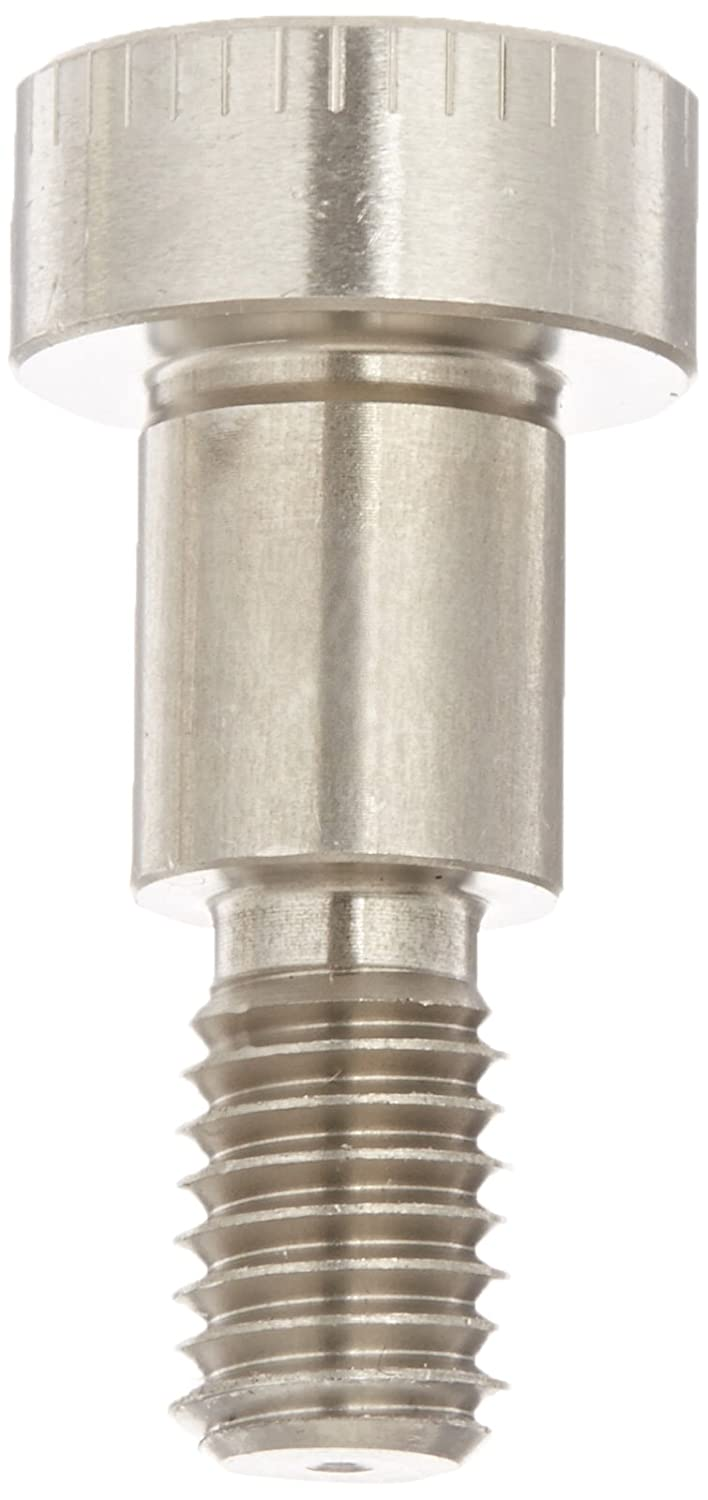 Plain Finish 18-8 Stainless Steel Shoulder Screw Auccurate Manufacturing Made in US, M8-1.25 Threads Hex Socket Drive Standard Tolerance 10 mm Shoulder Diameter Meets ISO 7379 12 mm Shoulder Length 13 mm Thread Length Socket Head Cap Pack of 1