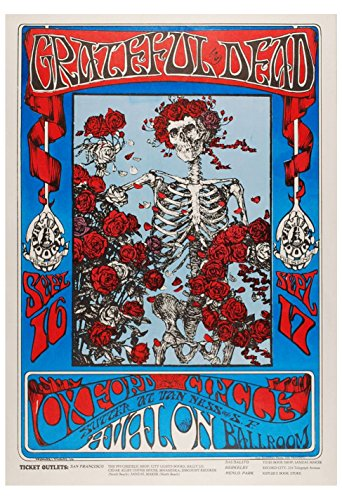 Old Tin Sign Poster Grateful Dead (Stuff Inside Tin Sign)