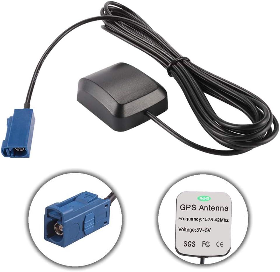 Coche GPS Antena Activa FAKRA Conector Macho Conector Cable Antena ...