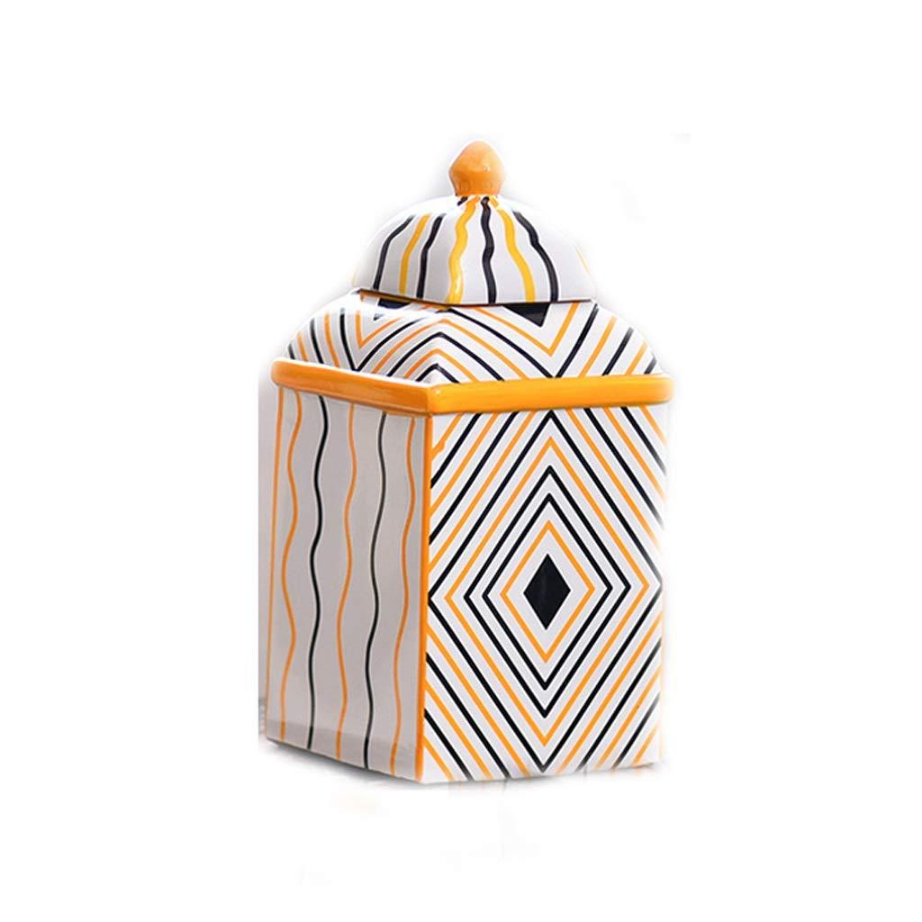 ヨーロッパの軽い陶磁器の花瓶の装飾の装飾の居間のテーブルの装飾 SHWSM (サイズ さいず : High 31CM) B07S7VFL49  High 31CM