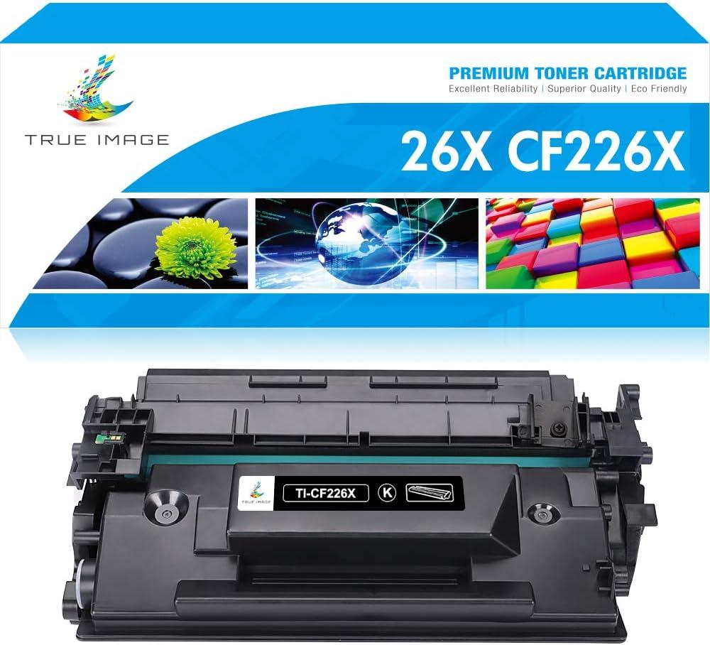 True Image Compatible Toner Cartridge Replacement for HP 26X 26A CF226X CF226A M402 M426 Laserjet Pro M402n M402dn M426fdn MFP M426fdw M402dw M402d M426dw (Black, 1-Pack)