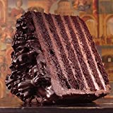 Sweet Street Big Chocolate Six Layer Iced Cake 8.3 lb (12 Slices) Pack of 2