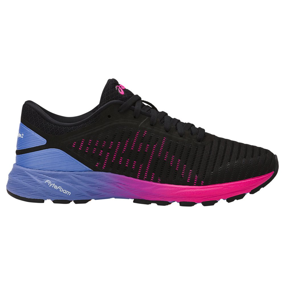 ASICS Women's Dynaflyte 2 Running Shoe B0754DXNTP 9 B(M) US|Black/Pink/Persian Jewel