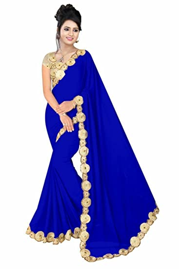 Clothing, Shoes & Accessories Other Women's Clothing Saree In Royal Blue