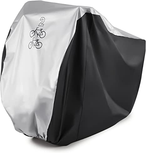Waterproof 210T Nylon Bicycle Bike Scooters Cover Outdoor Rain Dust Protector US