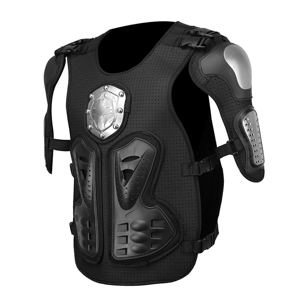 Quisilife Cycling Body Protector Motocross Locomotive Clothing Protective Gear Summer Riding Sports Car Shatter-Resistant Armor Equipment (Size : XL)