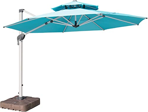 LKINBO 11 FT Cantilever Patio Umbrella