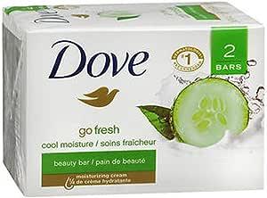Amazon.com : Dove go fresh Beauty Bar, Cucumber and Green