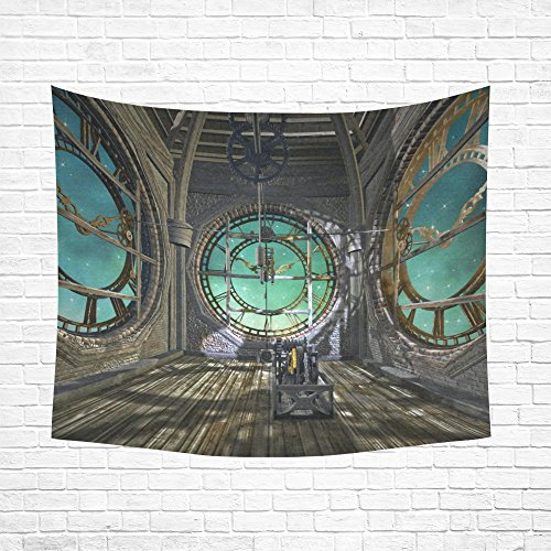 JC-Dress Tapestry Wall Hanging Steampunk Empty Room