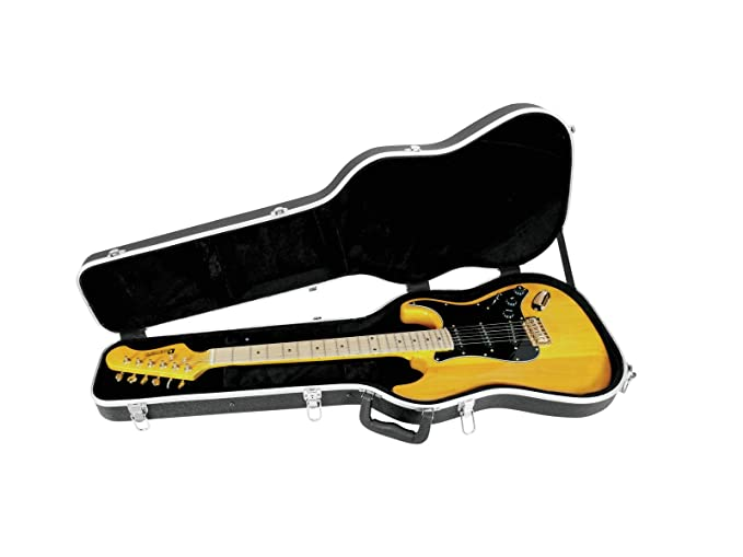 DIMAVERY Carcasa ABS para guitarra eléctrica: Amazon.es: Instrumentos musicales