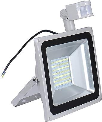 100W LED Fluter Außenstrahler Hohes Buchtlicht Wandlicht Sicherheitslicht Weiß