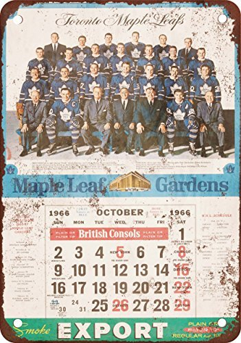 1966 Toronto Maple Leafs Calendar Vintage Look Reproduction for sale  Delivered anywhere in Canada
