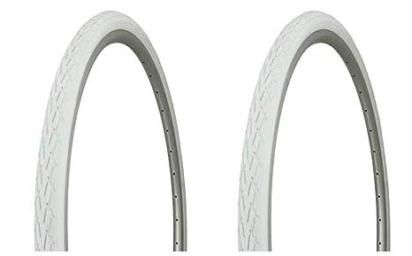 "Duro 24/"" x 4 1//4/"" Bicycle bike Tire Black// White Side Wall DB-9002"