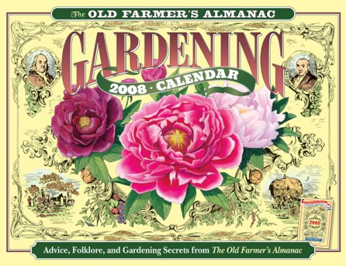 The Old Farmer 39 S Almanac 2008 Gardening Calendar Flyers Online