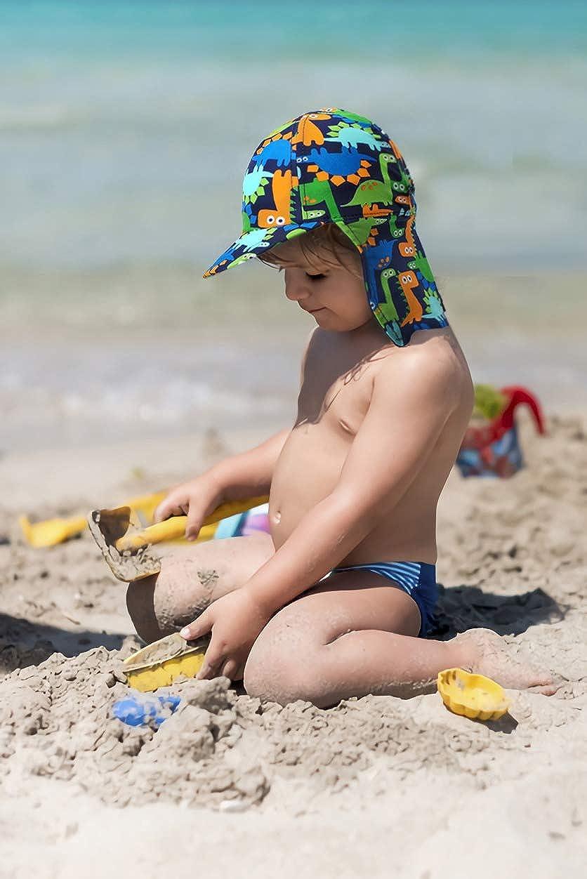 Niños Verano Sombrero para el Sol, UPF 50+ gorra de ...