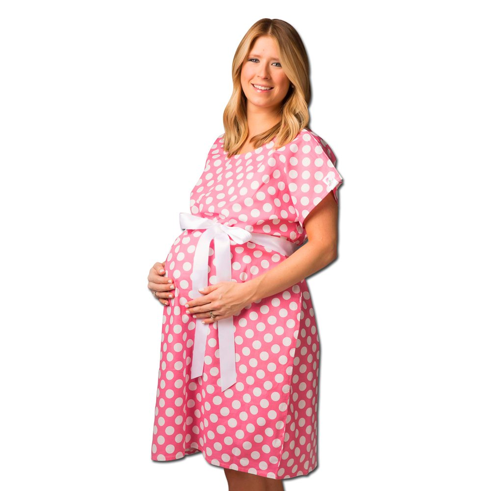Posh Pushers Maternity Hospital Gown - Pretty Designer Labor and ...